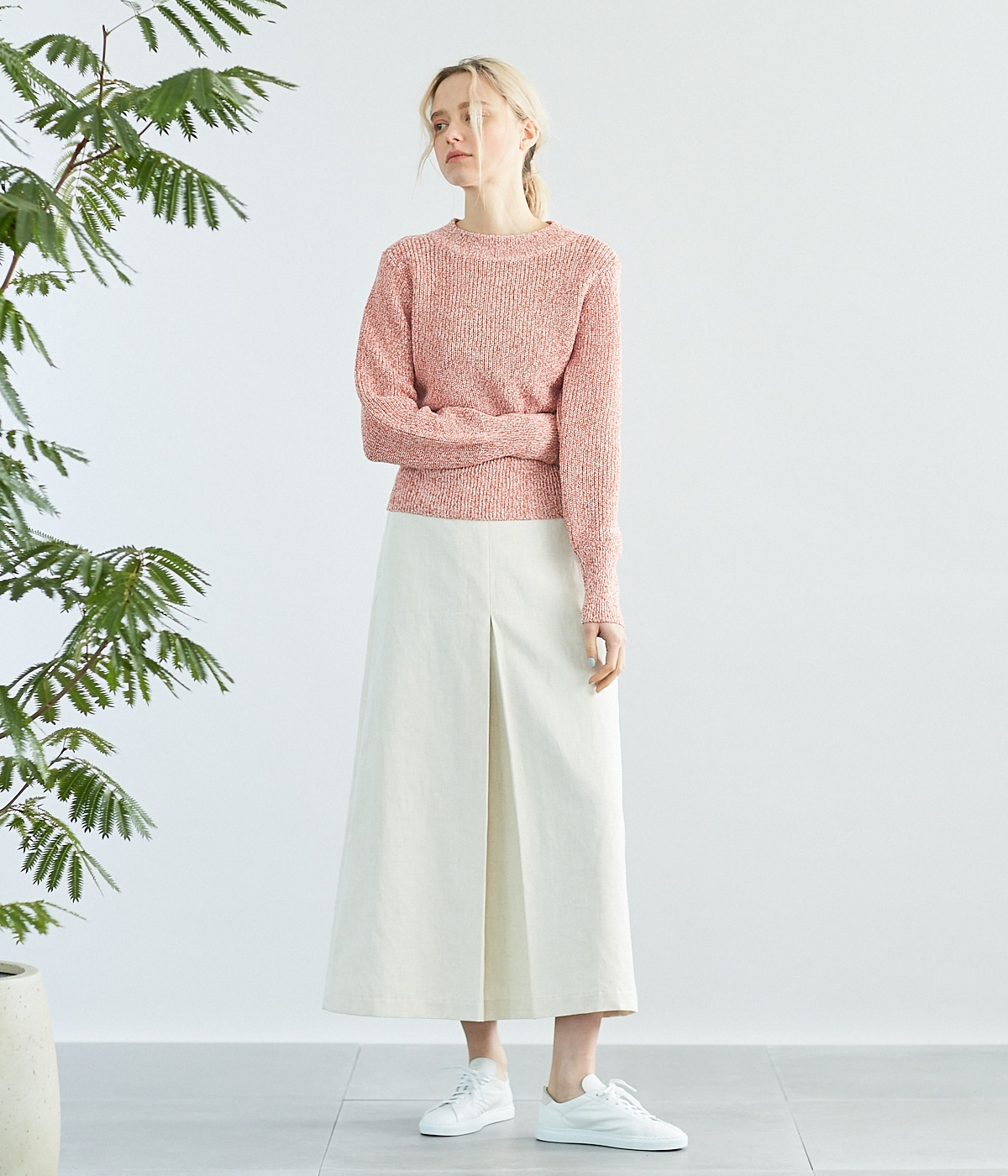 KONJAC COATED COTTON KNIT STYLE