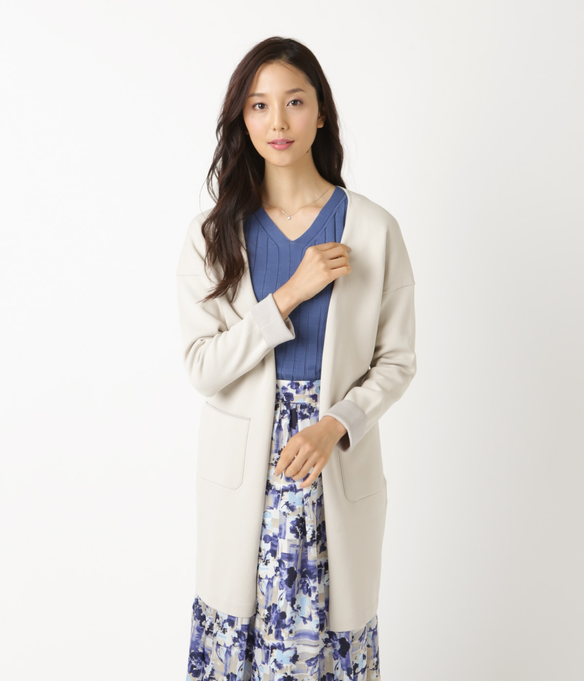 【L】Comfortable Outer/ニットアウター