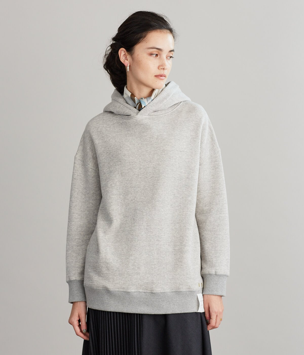Botanical Cotton TSURI URAKE ビッグパーカ