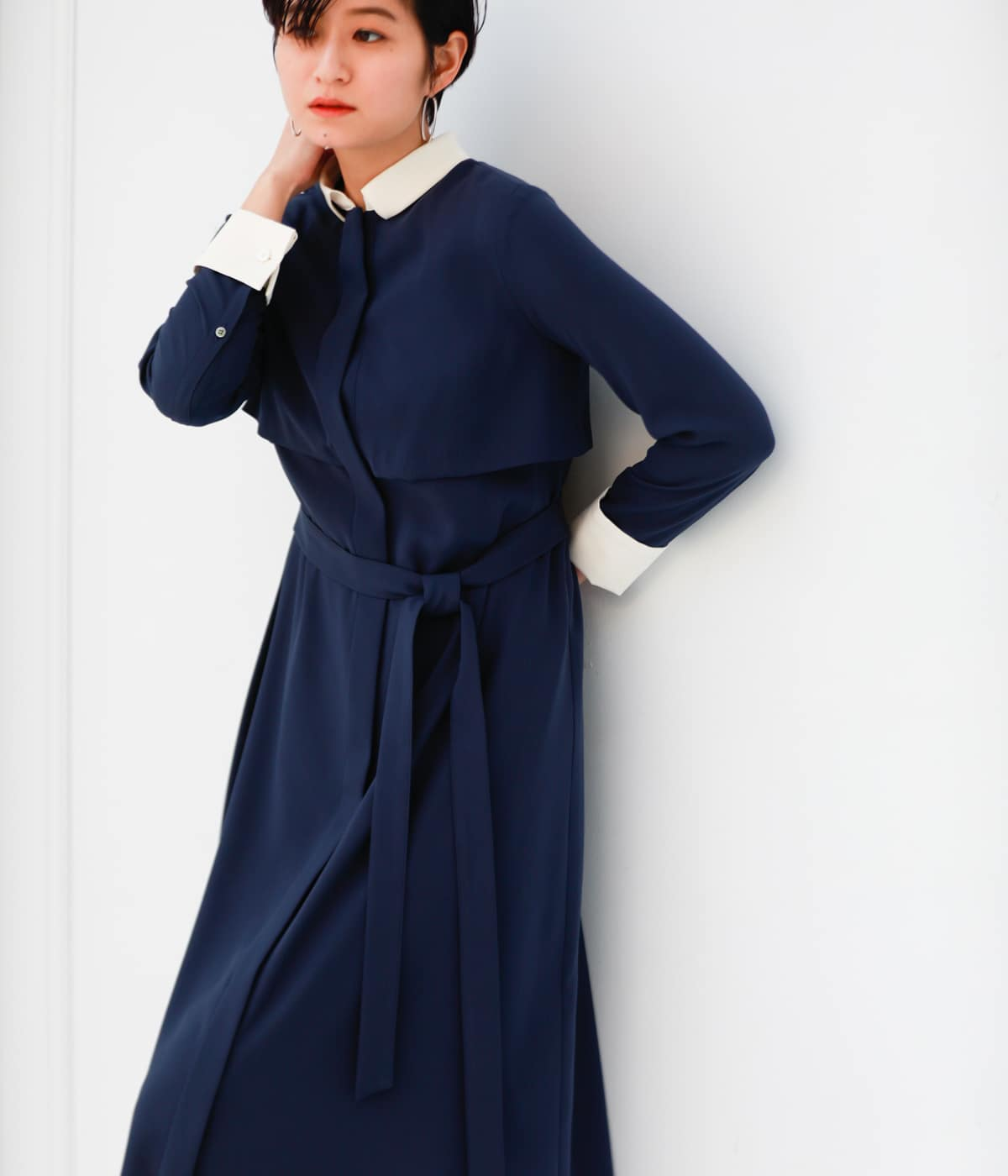 LITTLE NAVY DRESS collection/クレリックドレス
