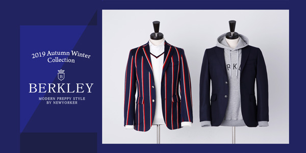 『BERKLEY 2019 Autumn Winter collection』