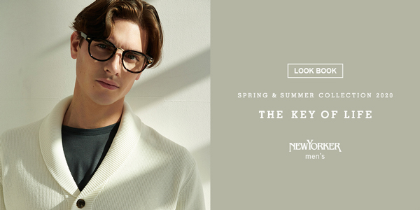 "LOOK BOOK""NEWYORKER men's Spring & Summer 2020"""
