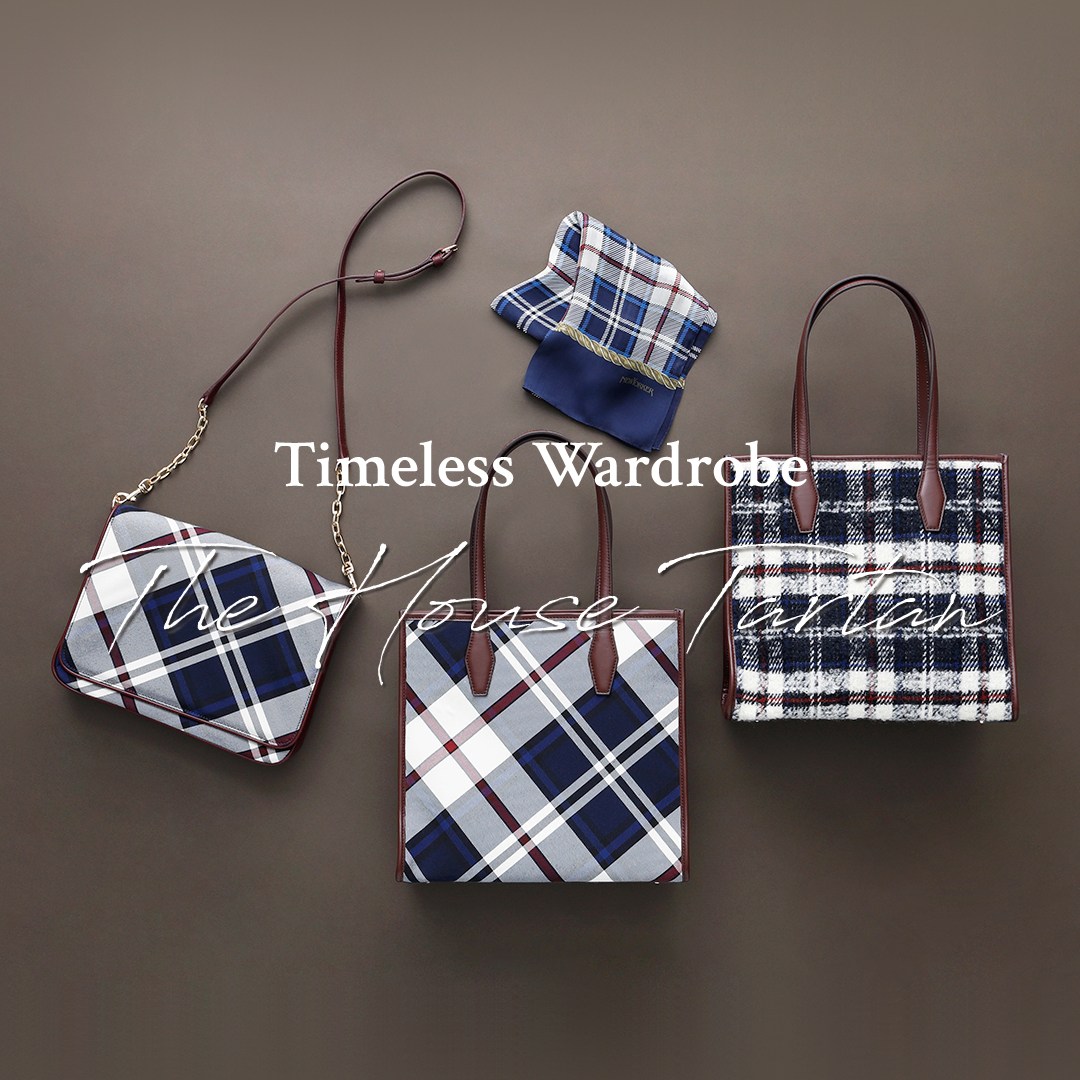 "Timeless Wardrobe""The House Tartan"""