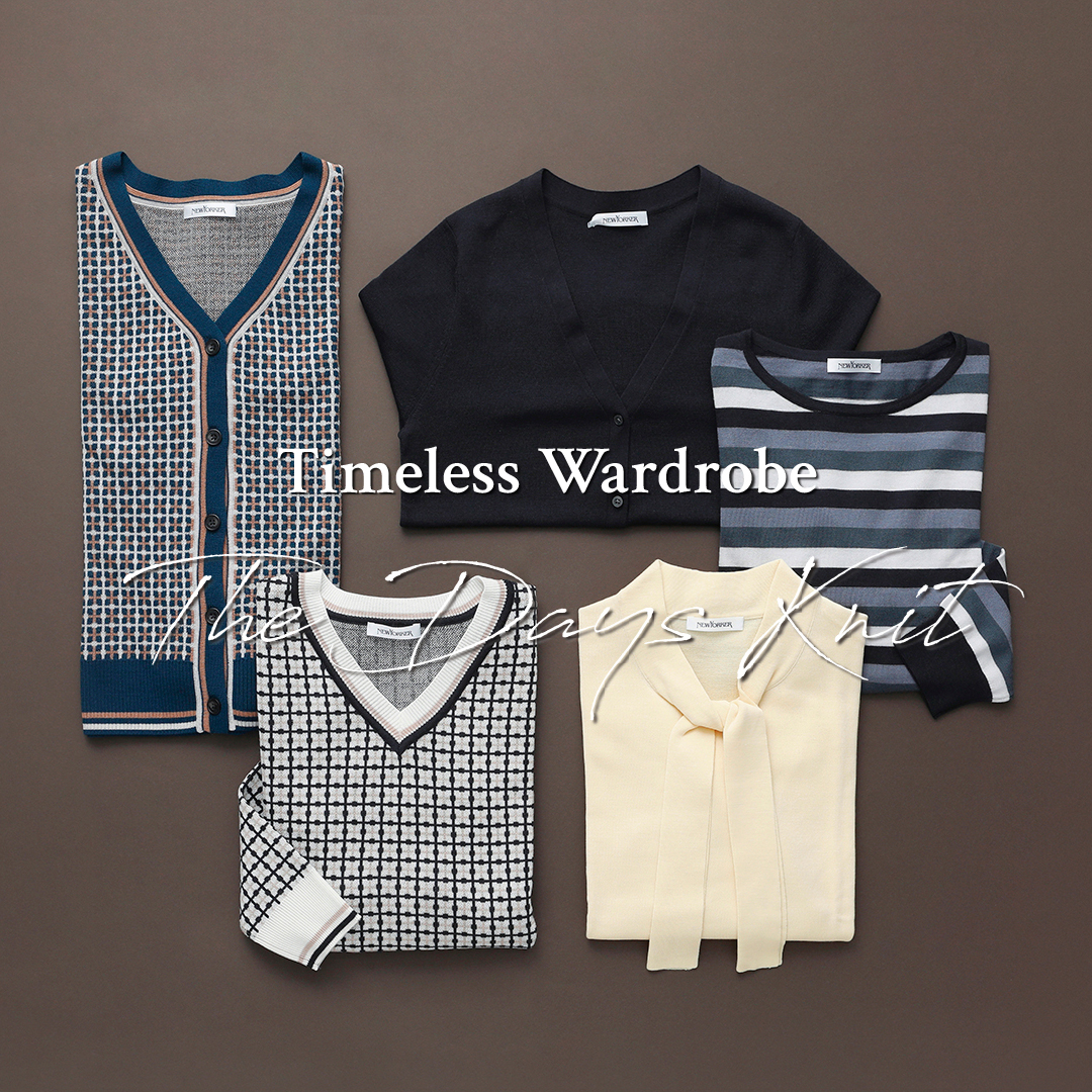 "Timeless Wardrobe""The Days Knit"""