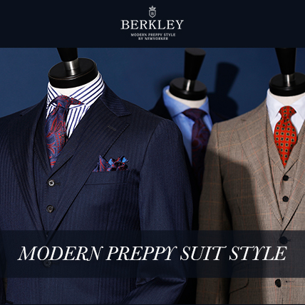 BERKLEY MODERN PREPPY SUIT STYLE