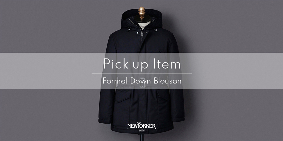 "PICK UP ITEM""FORMAL DOWN BLOUSON""