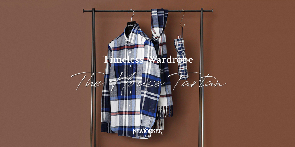 "Timeless Wardrobe""The House Tartan""