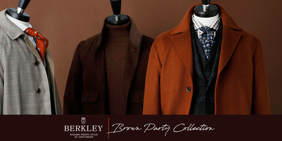 BERKLEY Brown Party Collection|ファッション通販のNY.online